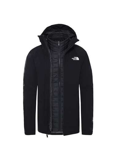 The North Face Thermoball Eco Triclimate Erkek Ceket - T94R2Kkx7 Siyah